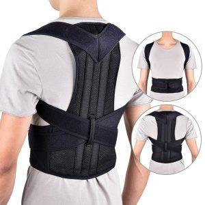 חגורת גב פרימיום חזקה ואיכותית לשיפור היציבה