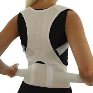 חגורת גב איכותית לשיפור היציבה לנשים ולגברים בצבע גוף